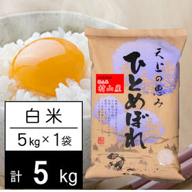 【5kg】 令和2年産 山形県内陸産 (村山エリア) ひとめ...