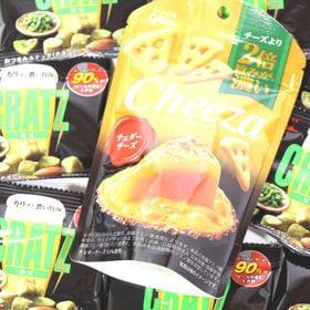 グリコ おつまみスナック クラッツミニ枝豆&生チーズのチーザ...