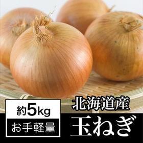 【約5kg】北海道産 良質 玉ねぎ 夏の太陽をたっぷり浴びて...