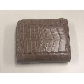 ロダニア 二つ折り財布 RDOCS0033MKCO クロコダ...