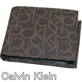 【ブラウン】Calvin Klein カルバンクライン 2つ...