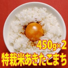 【450g×2袋】令和2年産 新米 こだわり 特別栽培米秋田...