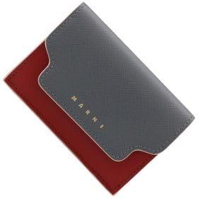 マルニ 折り畳み財布 PFMOW02U23 LV520 Z3...