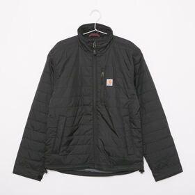 Sサイズ [CARHARTT] ナイロンジャケット GILLIAM JACKET ブラック | 丈夫さ・軽量さ・保温性を兼ね備えた高い機能性が魅力のアウターです♪