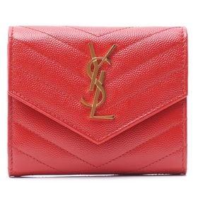【色:BANDANA RED】サンローラン 折り畳み財布 4...