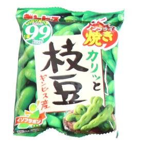 【6袋】ギンビス カリッと枝豆 ノンフライ焼き