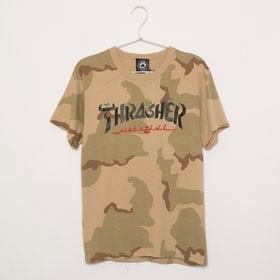 【Sサイズ/カモフラージュ】 [THRASHER]Tシャツ ...