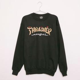 【Mサイズ/ブラック】[THRASHER]トレーナー CAL...