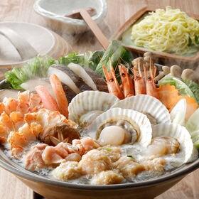 【7種】海の幸と知床鶏の鍋セット 野菜など準備するだけで本格...