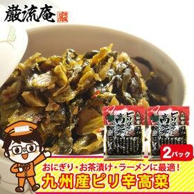 【2パック】高菜漬け からし高菜 辛子高菜 高菜 九州