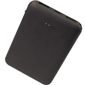 【ブラック】 モバイルバッテリー 2ポート 5000mAh ...