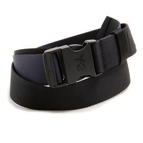 Mサイズ [adidas Y-3]ベルト CH2 2TONE BELT ブラック×ネイビー | リバーシブルでお使いいただける優秀アイテム♪プレゼントにも◎