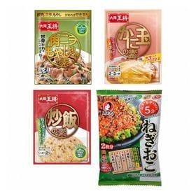 大阪王将・オタフクのお総菜と炒飯の素セット A