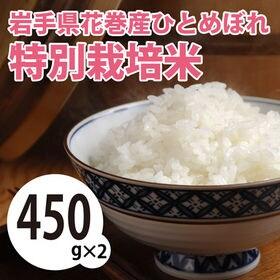 【450g×2袋】令和2年産 新米 岩手県花巻産ひとめぼれ特...