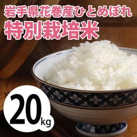 【20kg (5kg×4袋)】令和2年産 新米 岩手県花巻産...