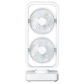ツインスイングファン【ホワイト】  RM-101H-WH