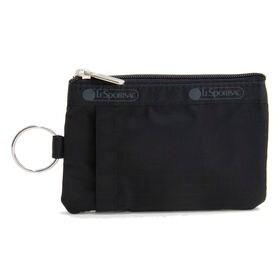 [LeSportsac]パスケース ID CARD CASE ブラック | 貴重品をこれひとつにまとめられる万能アイテム!お子様へのプレゼントにも♪