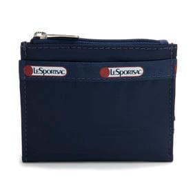 [LeSportsac]折り財布 SMALL WALLET ネイビー | 厚みのないフラットなデザインがお気に入り!お子様用のお財布としても◎