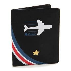 [LeSportsac]パスポートケース TRAVEL PASSPORT CASE ブラック | 旅行がグッと楽しくなりそうなポップでキュートなアイテムを揃えました♪