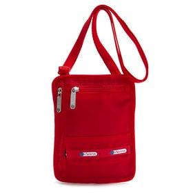 [LeSportsac]ネックポーチ TRAVEL POUCH レッド | 旅行時に貴重品を入れて持ち歩くのにぴったり♪