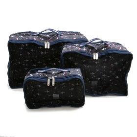 [LeSportsac]ポーチ VOYAGE PACKING CUBES ブラック系 | 荷物によって使い分けのできるサイズ違いのセット商品!