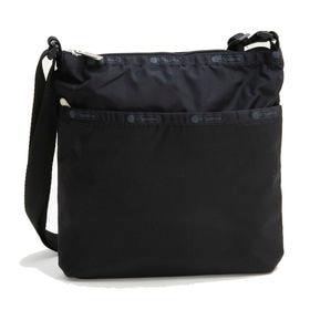 [LeSportsac]ショルダーバッグ ON THE GO CROSSBODY ブラック | スッキリとしたスマートなフォルムはデイリーにぴったり♪