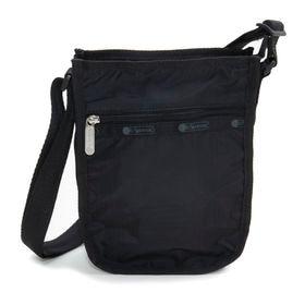 [LeSportsac]ショルダーバッグ CLASSIC N/S CROSSBODY ブラック   軽い素材と気軽に持てる程よいサイズ感がお気に入り!