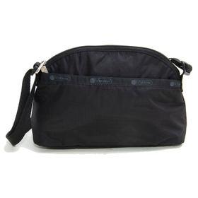 [LeSportsac]ショルダーバッグ HALF MOON CROSSBODY ブラック | やや丸みを帯びたルックスが女性らしくてとってもキュート!