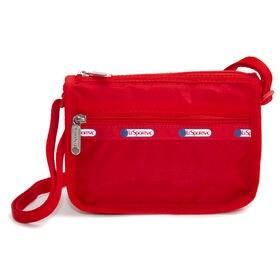 [LeSportsac]ショルダーバッグ CLASSIC MINI HOBO レッド | 定番ショルダーバッグのミニサイズが登場!お子様のバッグとしても◎