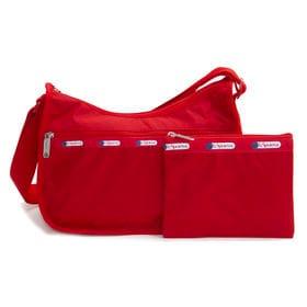 [LeSportsac]ショルダーバッグ CLASSIC HOBO レッド | レスポ定番のショルダーバッグ!自分好みのプリントを見つけよう♪
