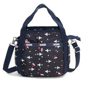 [LeSportsac]ハンドバッグ SMALL JENNI ブラック | ころんと丸みを帯びたルックスが可愛らしい!ハンドバッグとしても◎