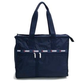 [LeSportsac]トートバッグ DELUXE E/W TOTE ネイビー | A4サイズがすっぽり収納できる大きめのサイズ感は通勤や通学にも◎