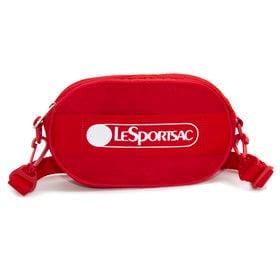 [LeSportsac]ベルトバッグ DELUXE LOGO BELT BAG レッド | ポップなロゴがコーディネイトにアクセントを添える逸品!