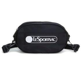 [LeSportsac]ベルトバッグ DELUXE LOGO BELT BAG ブラック | ポップなロゴがコーディネイトにアクセントを添える逸品!
