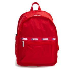 [LeSportsac]リュック CLASSIC BACKPACK レッド | 定番バックパックは、日常使いから旅行などのアクティブなシーンにも◎