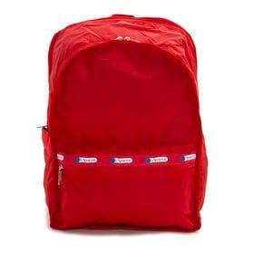 [LeSportsac]リュック CLASSIC LARGE BACKPACK レッド | 定番バックパックは、日常使いから旅行などのアクティブなシーンにも◎