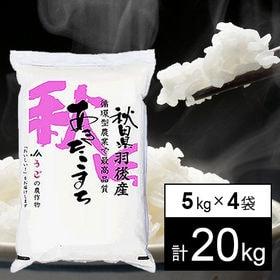 【20kg】 令和2年産 秋田県羽後産 JAうご あきたこま...