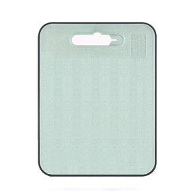 【グリーン】家庭用便利なまな板、キッチンシャープナー付きカッ...