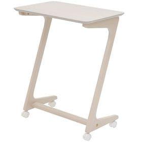 【WH】キャスター付きサイドテーブル アストル