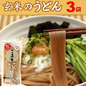 【計6食(200g×3袋)】こまち麺 玄米