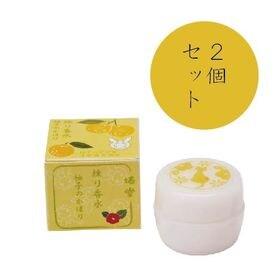 【2個セット】くろちく 椿堂 練り香水 柚子