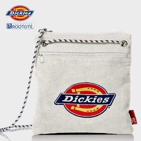 【ホワイト】Dickies×ROOTOTE ショルダーバッグ...