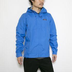 Lサイズ[patagonia]ジャケット M'S TORRENTSHELL 3L JKT ブルー | 機能性も兼ね備えたナイロンジャケット!小さく収納できるパッカブル仕様も◎