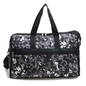 [LeSportsac]ボストンバッグ DELUXE LG WEEKENDER グレー系 | 旅行には欠かせないボストンバッグ!キャリーバーに通せるポケット付きでサブバッグとしても◎