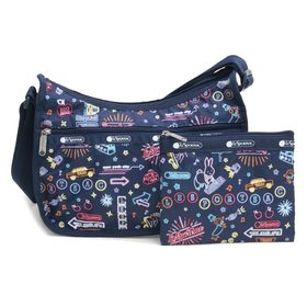 [LeSportsac]ショルダーバッグ CLASSIC HOBO ネイビー系 | レスポ定番のショルダーバッグ!自分好みのプリントを見つけよう♪