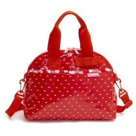[LeSportsac×HelloKitty]ハンドバッグ BOW DOME BAG レッド×ピンク | 世界中で愛されるハローキティとのコラボレーション商品♪