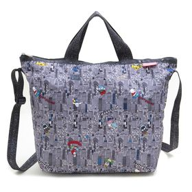 [LeSportsac]トートバッグ DELUXE EASY CARRY TOTE グレー系 | 世界中で愛されるハローキティとのコラボレーション商品♪
