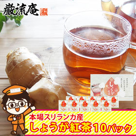 【10パック】生姜紅茶 生姜 紅茶 ジンジャーティー ティー...