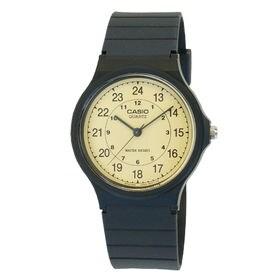 取寄品 CASIO腕時計 アナログ表示 丸形 MQ-24-9...