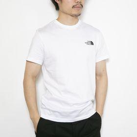 Mサイズ[THE NORTH FACE]Tシャツ M S/S SIMPLE DOME ホワイト | 幅広く着回しの効くシンプルなロゴTシャツ♪一枚は持っておきたい!